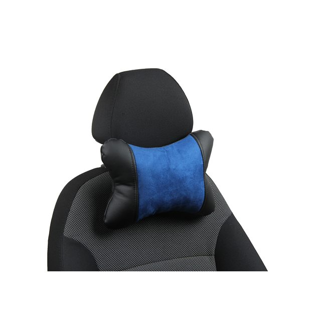Подушка под шею из алькантары