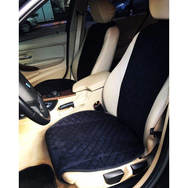 Накидки из алькантары на передние сиденья