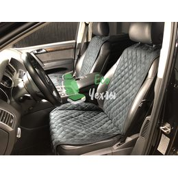 Накидки из алькантары на передние сиденья SRX