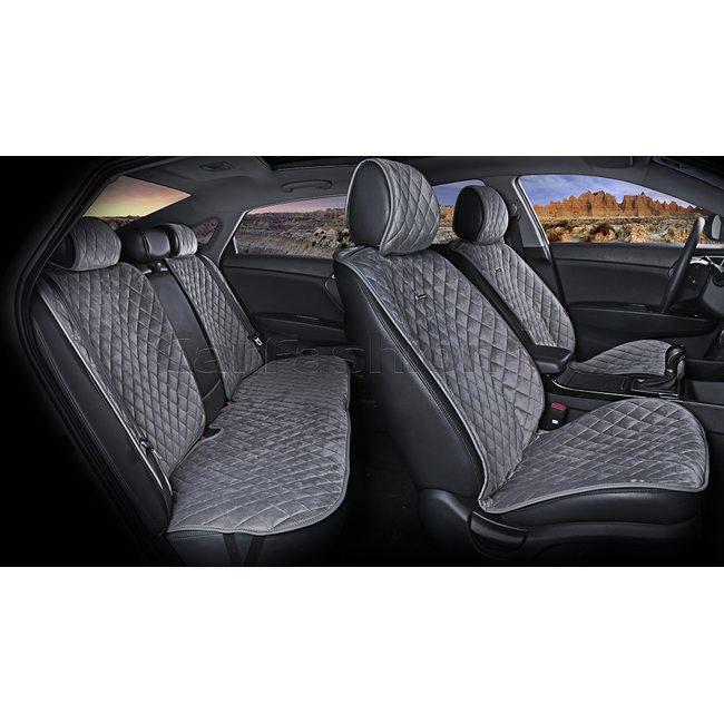 Комплект автомобильных накидок из велюра California Plus Premium