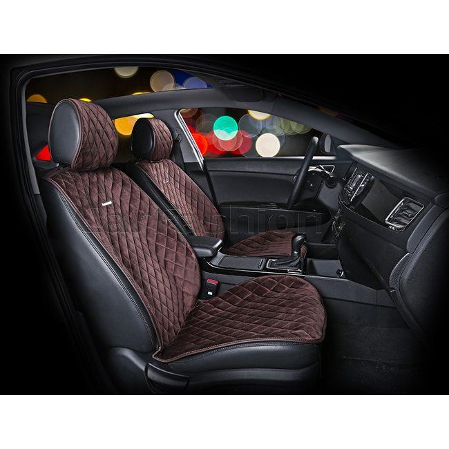 Автомобильные накидки на передние сиденья из велюра California Premium