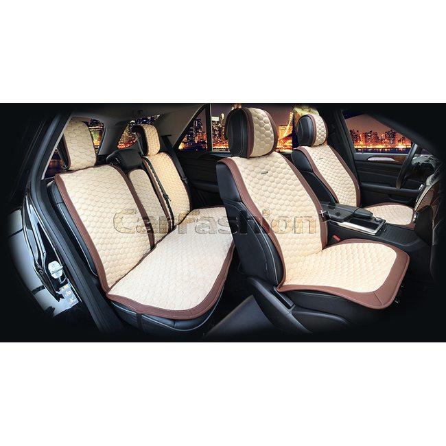 Комплект автомобильных накидок на сиденья из нубука Capri Plus Premium