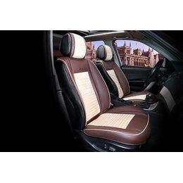 3D Каркасные автомобильные накидки на передние сиденья из велюра Madrid Premium