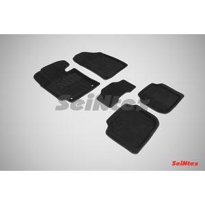 3D ворсовые коврики для KIA CERATO III / Classic (2013-) Черные