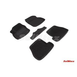 3D ворсовые коврики для KIA SPORTAGE IV (2016-) Черные