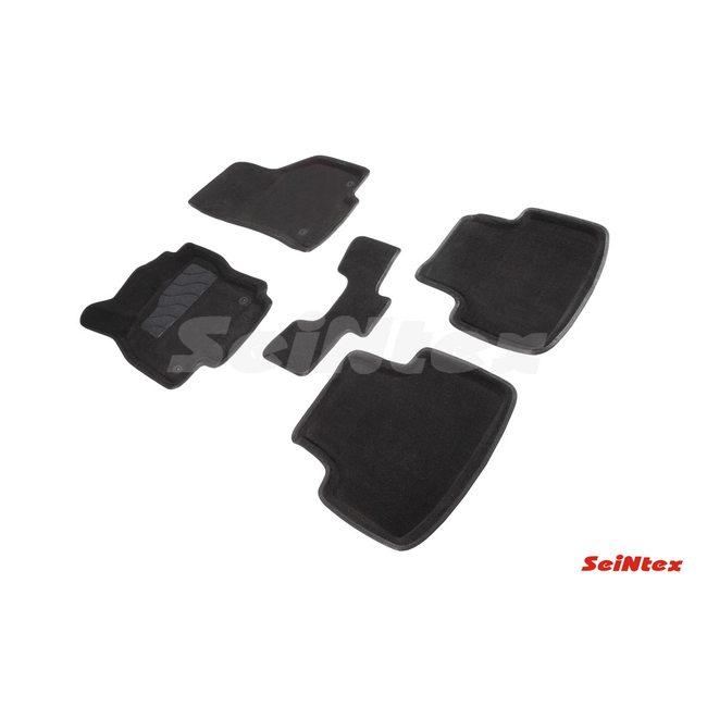 3D ворсовые коврики для VOLKSWAGEN PASSAT B8 (2015-) Черные