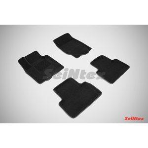 3D ворсовые коврики для INFINITI  FX 37, 50\QX 70 (2008-) Черные