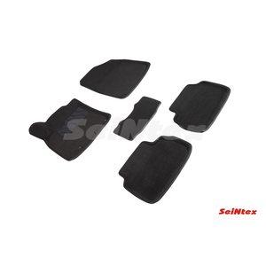 3D ворсовые коврики для KIA CEE'D III (2018-) Черные