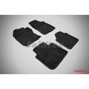 3D ворсовые коврики для TOYOTA VENZA (2008-) Черные