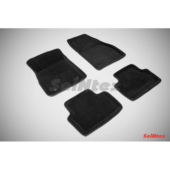 3D ворсовые коврики для OPEL INSIGNIA (2008-) Черные