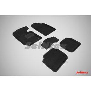 3D ворсовые коврики для HYUNDAI Elantra V (2011-) Черные