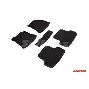 3D ворсовые коврики для Mercedes-Benz GLA-Class X156 (2014-) Черные