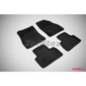 3D ворсовые коврики для NISSAN JUKE (2011-) Черные