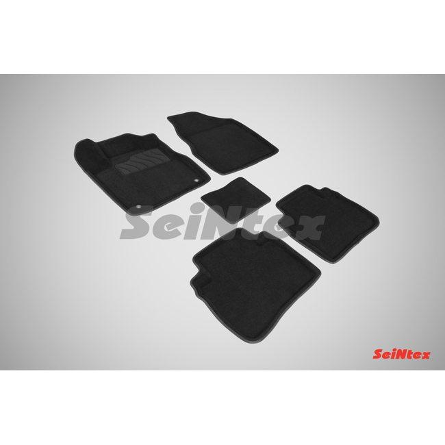 3D ворсовые коврики для NISSAN MURANO II (2008-2015) Черные