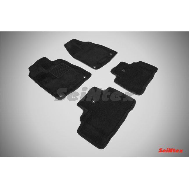 3D ворсовые коврики для Acura MDX (2014-) Черные