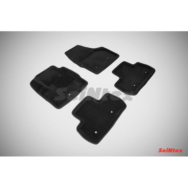 3D ворсовые коврики для LAND ROVER FREELANDER II (2006-) Черные