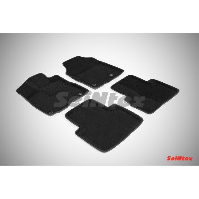 3D ворсовые коврики для Acura RDX (2014-) Черные