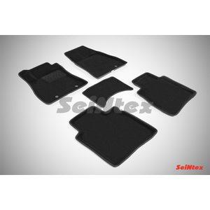 3D ворсовые коврики для NISSAN SENTRA (2014-) Черные