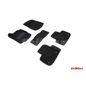 3D ворсовые коврики для Mercedes-Benz GLE Coupe C292 (2015-) Черные