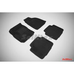 3D ворсовые коврики для HYUNDAI Matrix (2001-2010) Черные