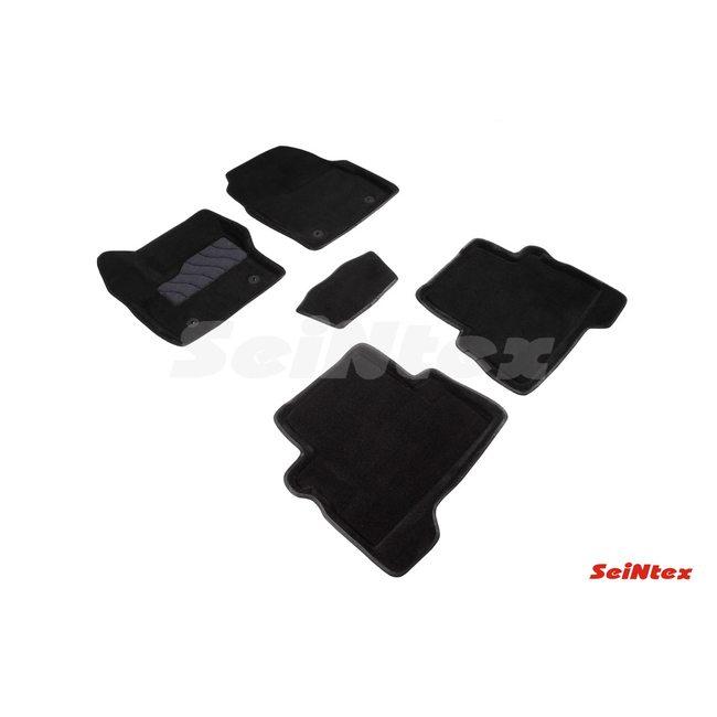 3D ворсовые коврики для FORD KUGA rest. (2016-) Черные