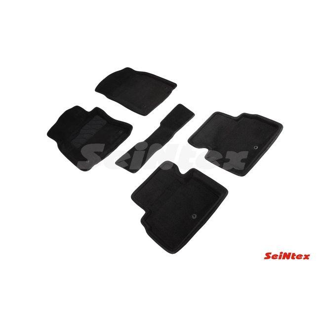 3D ворсовые коврики для INFINITI  Q50 (2013-) Черные