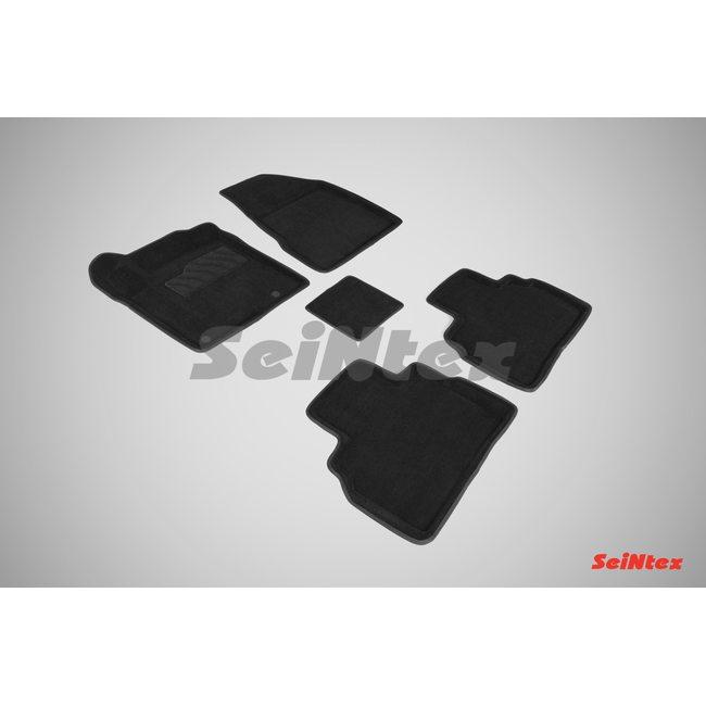 3D ворсовые коврики для NISSAN MURANO III (2016-) Черные