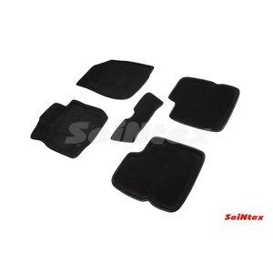 3D ворсовые коврики для NISSAN Terrano III (2014-) Черные