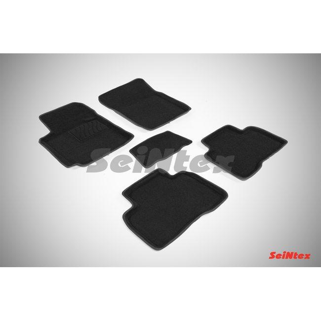 3D ворсовые коврики для SUZUKI GRAND VITARA III (5 dr) (2005-) Черные