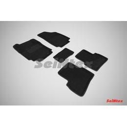 3D ворсовые коврики для HYUNDAI Creta (2016-) Черные