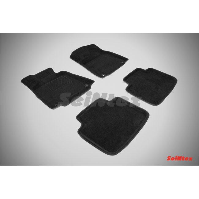 3D ворсовые коврики для LEXUS GS III (2008-2012) Черные