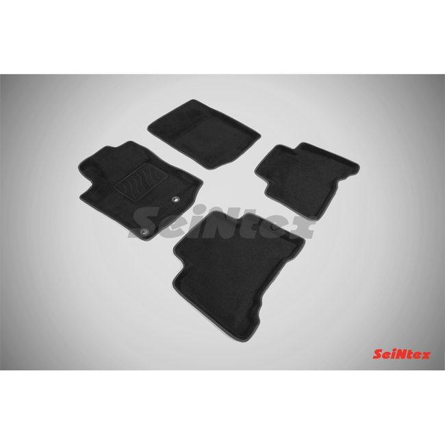 3D ворсовые коврики для TOYOTA LAND CRUISER PRADO150 (2013-) Черные