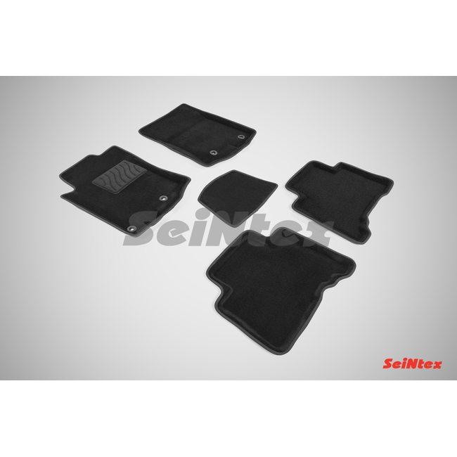 3D ворсовые коврики для LEXUS GX 460 (2009-) Черные