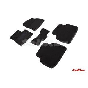 3D ворсовые коврики для MAZDA CX9 II (2018-) Черные