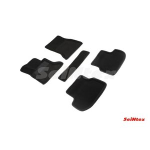 3D ворсовые коврики для BMW 5 Ser F-10 (2013-) Черные