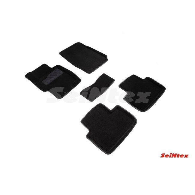 3D ворсовые коврики для HONDA ACCORD VII (2003-2008) Черные