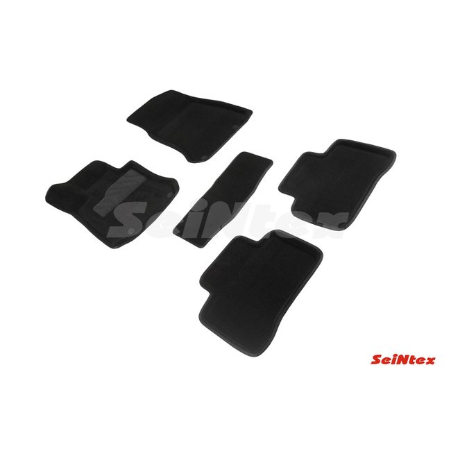 3D ворсовые коврики для Mercedes-Benz GLC-Class X253 (2015-) Черные