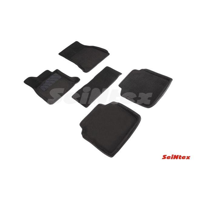 3D ворсовые коврики для BMW 7 Ser G-12 (2015-) Черные
