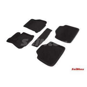 3D ворсовые коврики для BMW 3 Ser F-34 GT (2011-) Черные