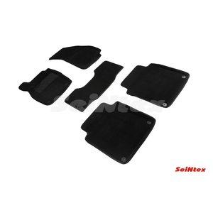 3D ворсовые коврики для AUDI A8 IV (D5) (2017-) Черные
