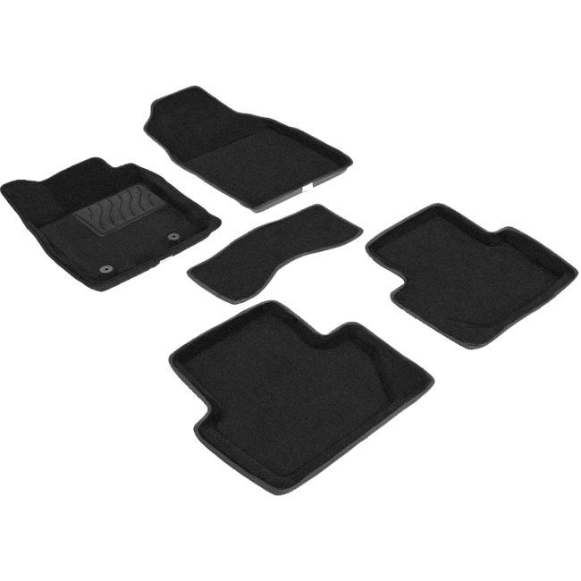3D ворсовые коврики для Volkswagen Polo VI (2020-) Черные