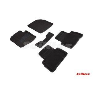 3D ворсовые коврики для SUZUKI VITARA (2015-) Черные