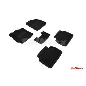 3D ворсовые коврики для HYUNDAI Elantra VI (2015-) Черные