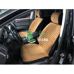 Автомобильные накидки на передние сиденья из велюра Veloster