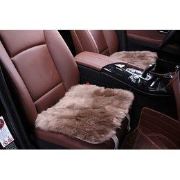 Квадрат из меха на сидения автомобиля - Длинный ворс