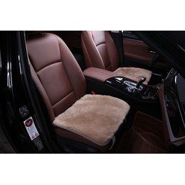 Квадрат из меха на сидения автомобиля - Короткий ворс