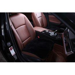 Квадрат из меха на сидения автомобиля - Короткий ворс из кусков